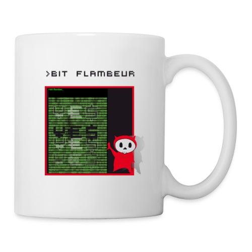 bit flambeur - Mug blanc