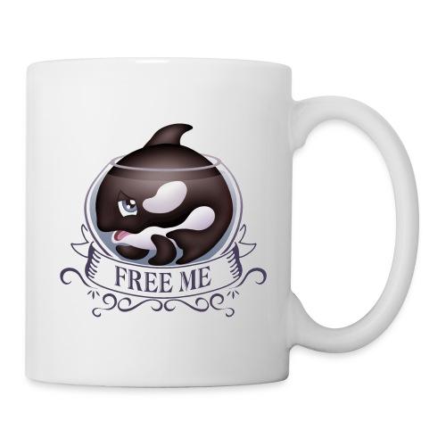 Free me - Mug blanc