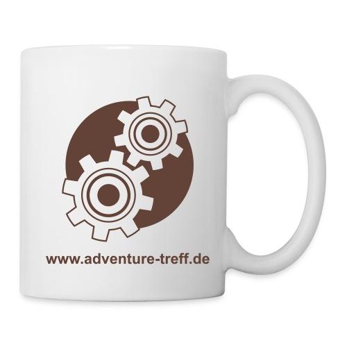 Treff Logo mit URL - Tasse