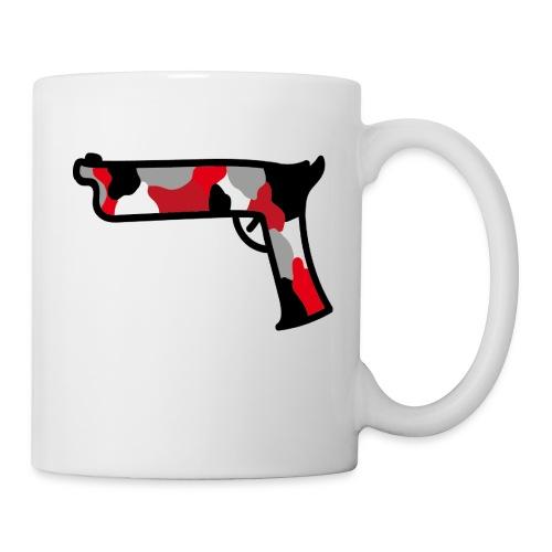 strijdR T-shirt pistol black - Mok