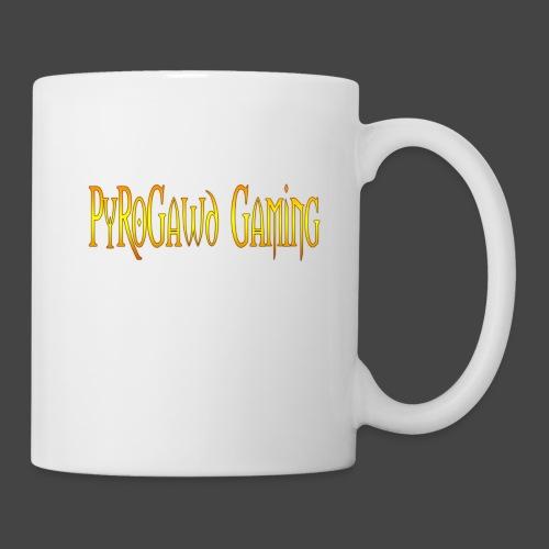 PyroGawd Logo Text - Tasse