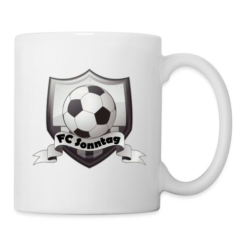 FC Sonntag Logo - Tasse