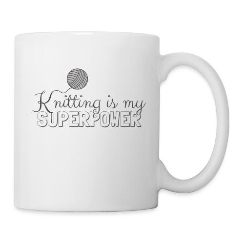 Knitting Is My Superpower - Mug