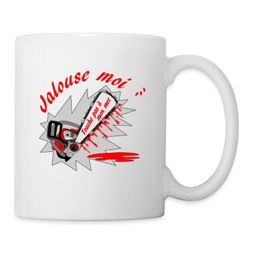 t shirt jalouse moi amour possessif humour FS - Mug blanc