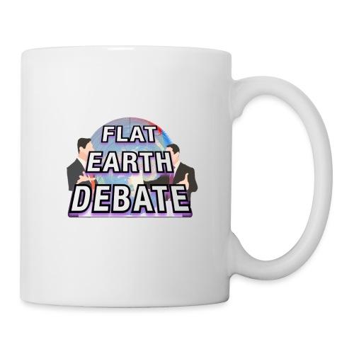 Flat Earth Debate - Mug