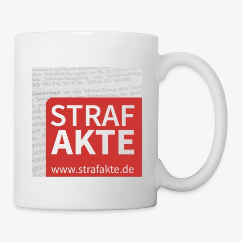 Strafakte.de Logo - Tasse