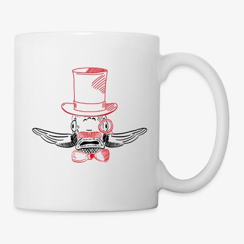 Elegant Hipster Fish - Mustache - Tasse