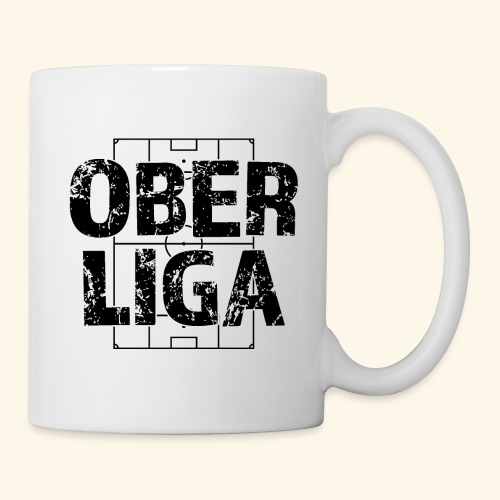 OBERLIGA im Fußballfeld - Tasse