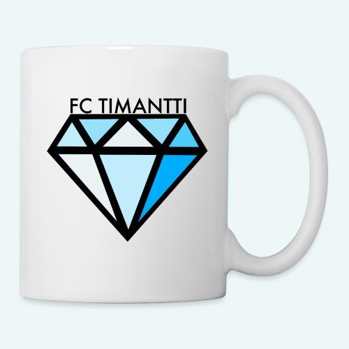 FC Timantti mustateksti - Muki