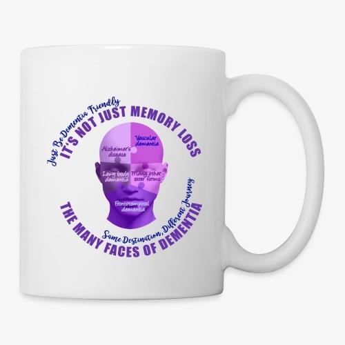 The Many Faces of Dementia - Mug