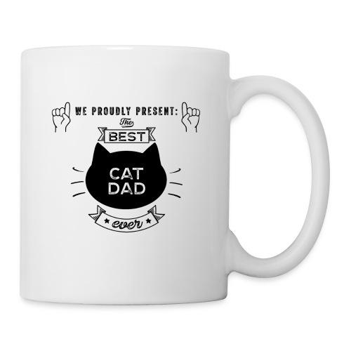Best Cat Dad Ever Geschenkidee - Tasse