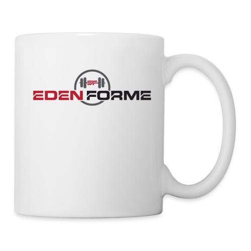 Logo complet Eden Forme - Mug blanc