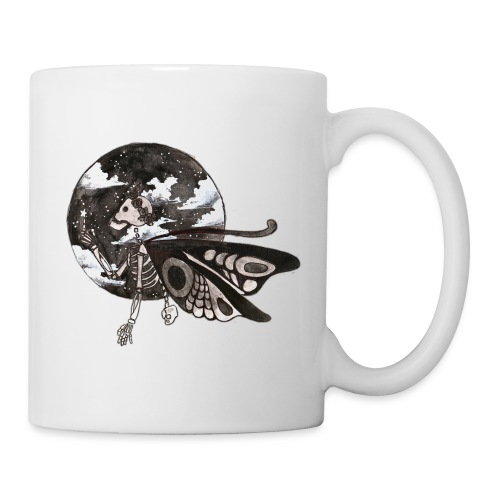 Butterfly Skeleton - Taza