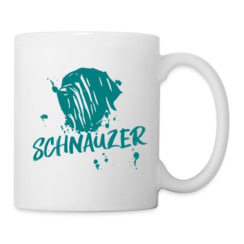 Riesenschnauzer / Schnauzer Comic Design Geschenk - Tasse