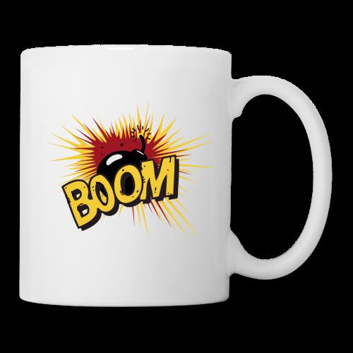 BOOM ! - Mug blanc