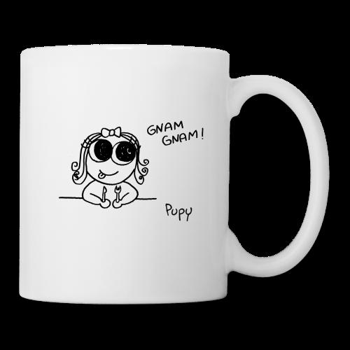 Pupy: gnam gnam! - girl - Tazza