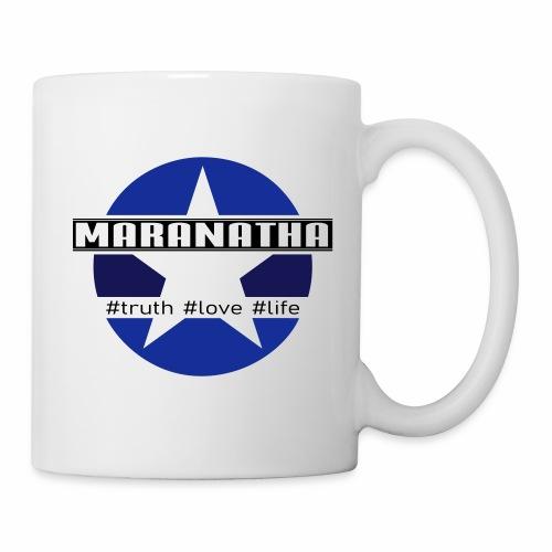 maranatha blau-braun - Tasse