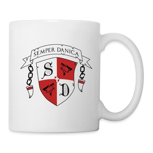 SD logo - sorte lænker - Kop/krus