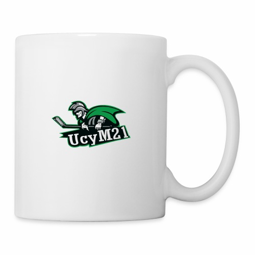UCY M21 Logo - Mug blanc