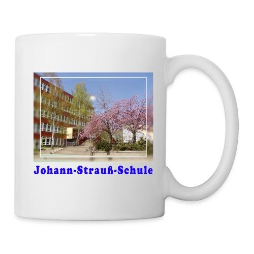 schule kirschbluete - Tasse