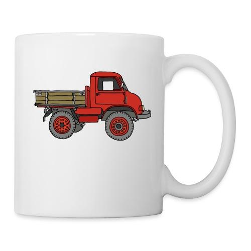 Roter Lastwagen, LKW, Laster - Tasse