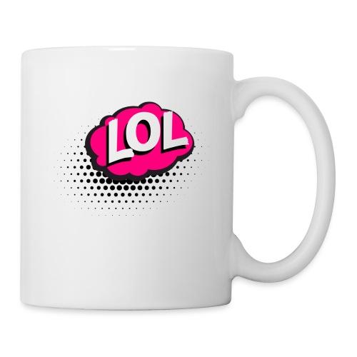 accessoire a inscription LOL - Mug blanc