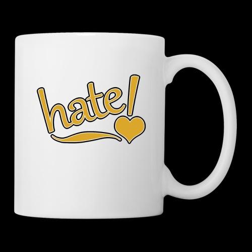 hate ! - Mug blanc