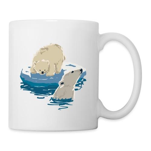 Polar bears - Mug