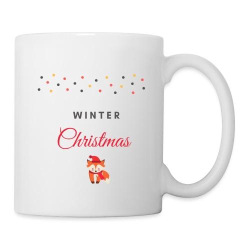 Winter Christmas Noël - Mug blanc