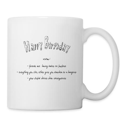 happy Birthday - Tasse