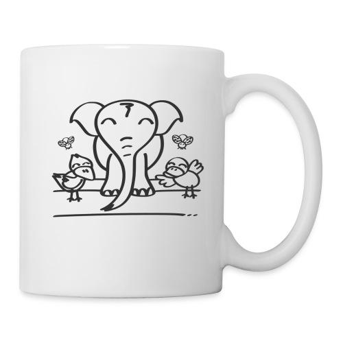 78 elephant - Tasse