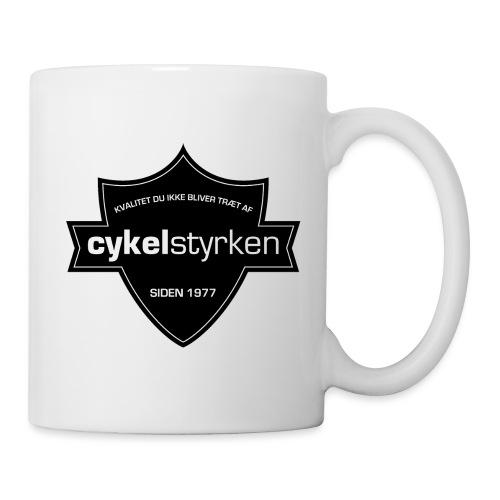 Cykelstyrken logo vaabenskjold50 - Kop/krus