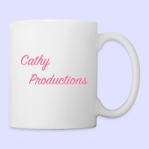Logo CathyProductions Pink - Tasse