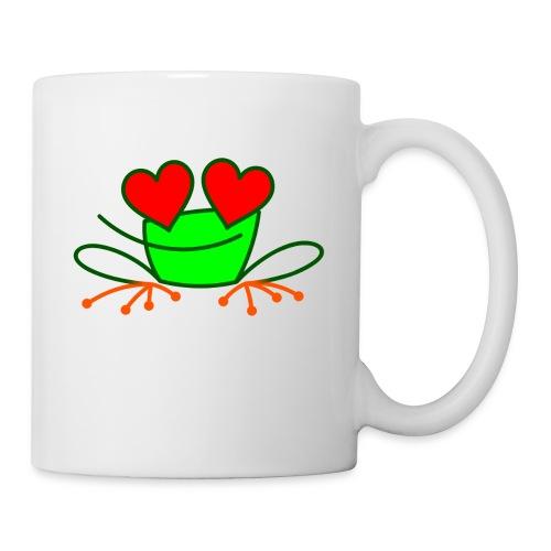 Frog in Love - Mug
