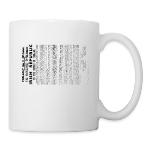 Irish proclamation - Mug