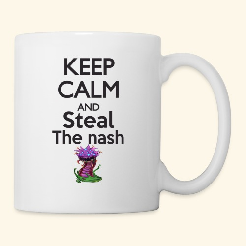 Steal the nash - Mug - Mug blanc