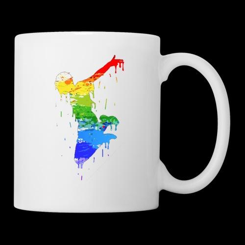 jump design paint - Mug