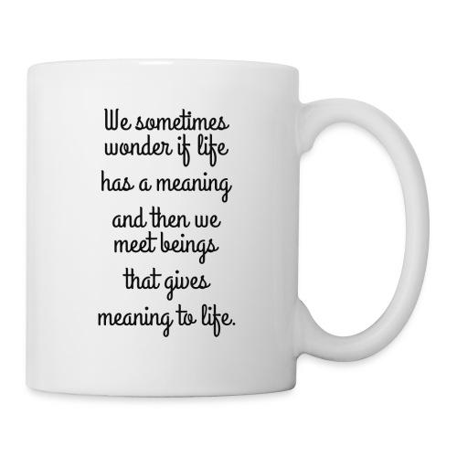 Phrase d'amour en anglais - Mug blanc