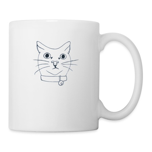 confused cat - Mugg