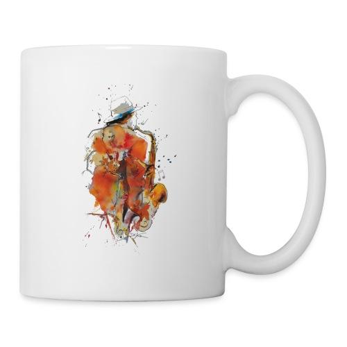 Jazz men - Mug blanc