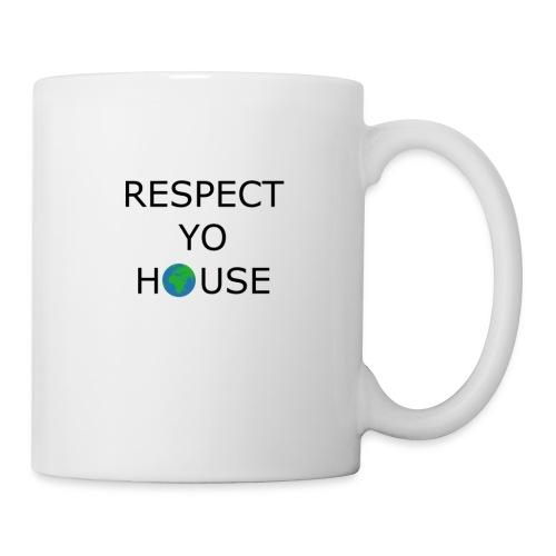 Respect yo house - Mug blanc
