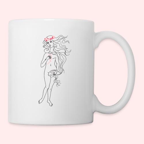 Octobre rose - Venus - Mug blanc