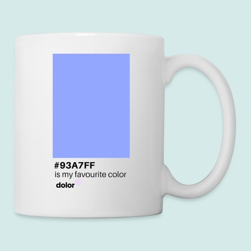 #93A7FF - Tasse