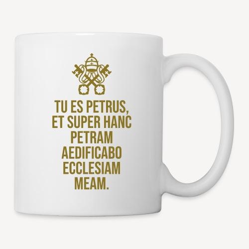 TU ES PETRUS - Mug