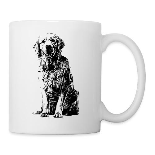 Golden Retriever - Hunde Geschenkidee - Tasse