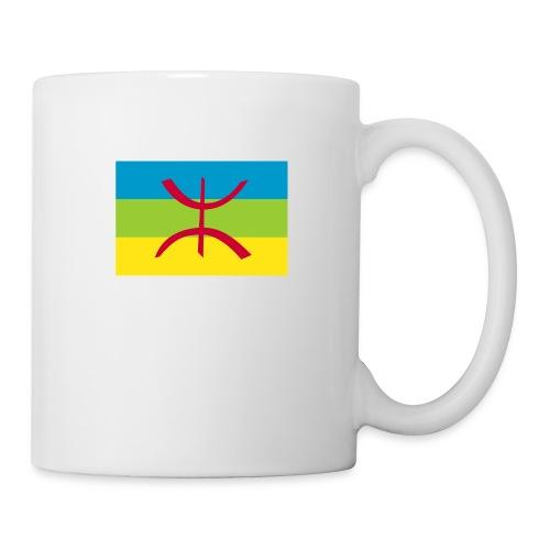 1200px-Berber_flag - Mug blanc