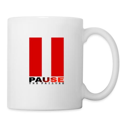 PAUSE THE FAILURE - Mug blanc