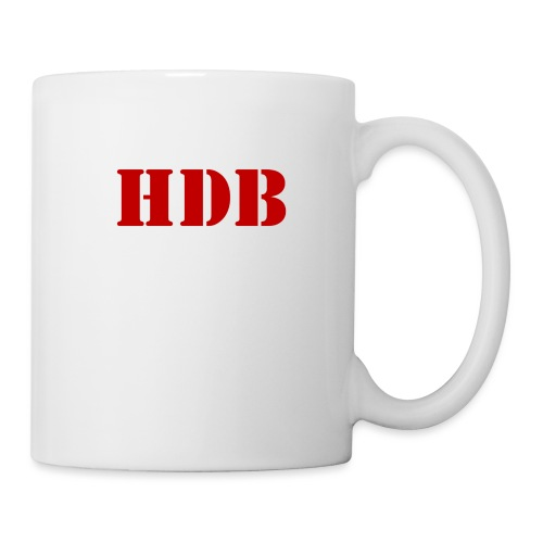 HDB Mok binnenkant rood - Mok