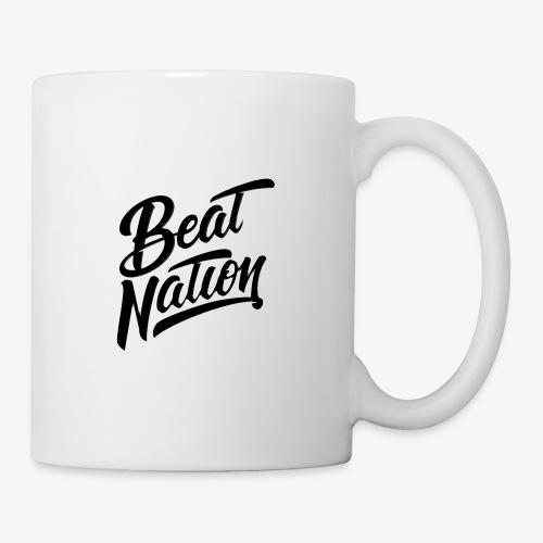 Logo Officiel Beat Nation Noir - Tasse