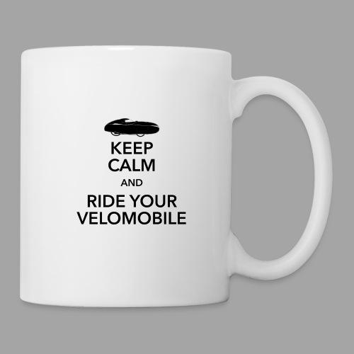 Keep calm and ride your velomobile black - Muki